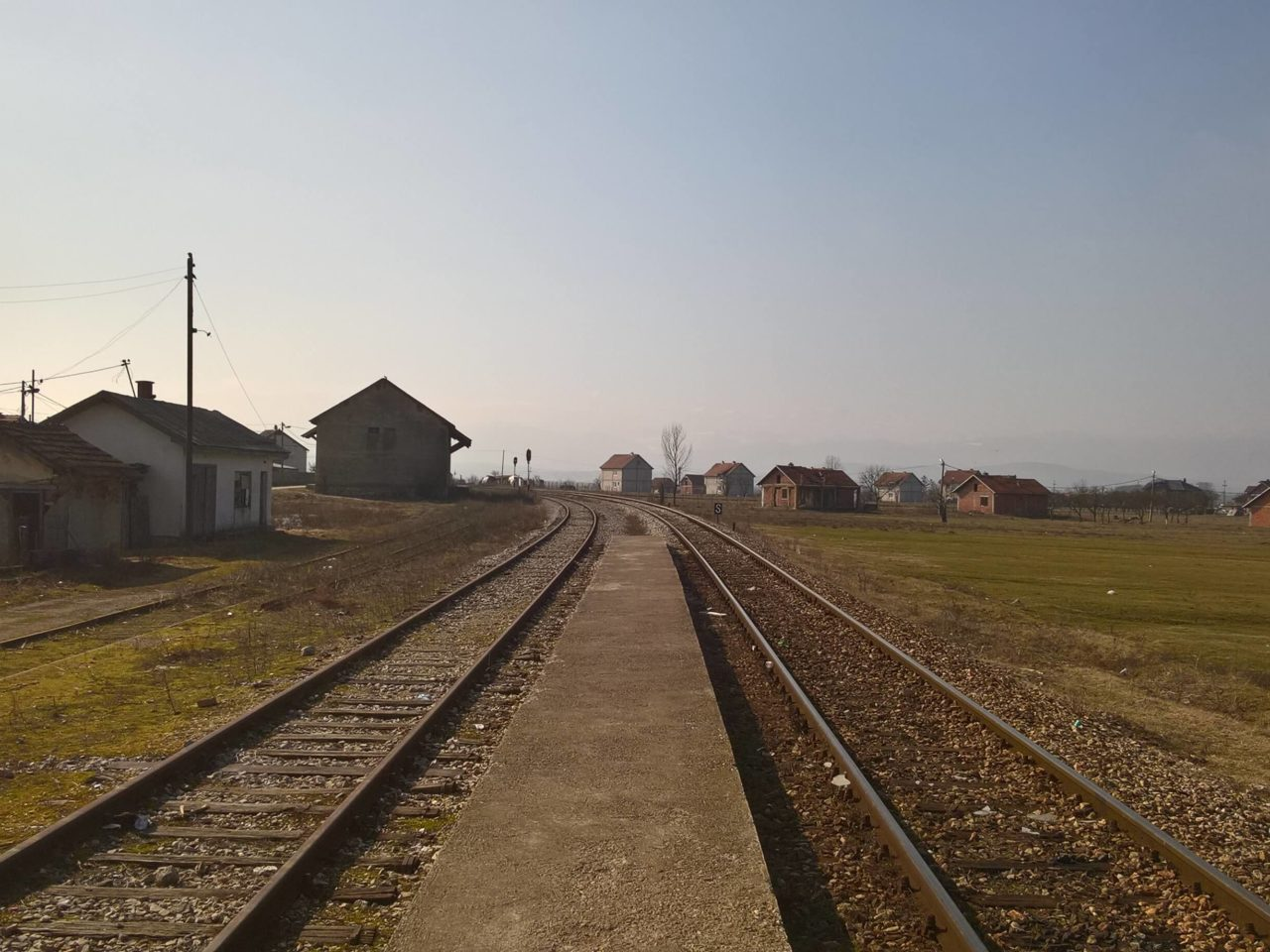 Stanica Bablak, nachádzajúca sa na trati Kosovo Polje – Skopje (Macedónsko).