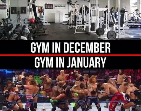 december vs januar vo fitku