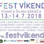 Fest Víkend Žilina 13.-14.7.2018