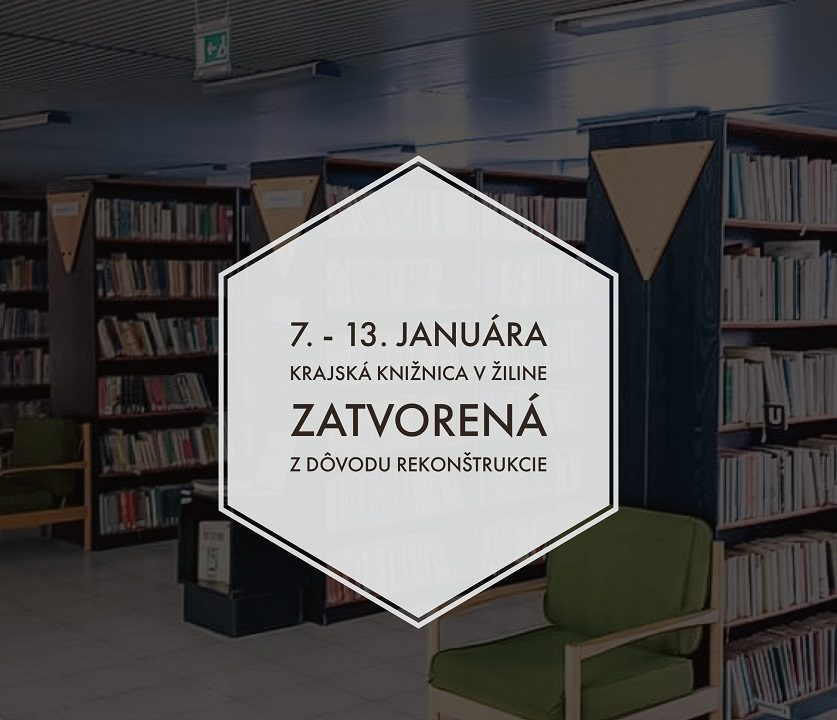 Krajšie a modernejšie priestory pre milovníkov kníh